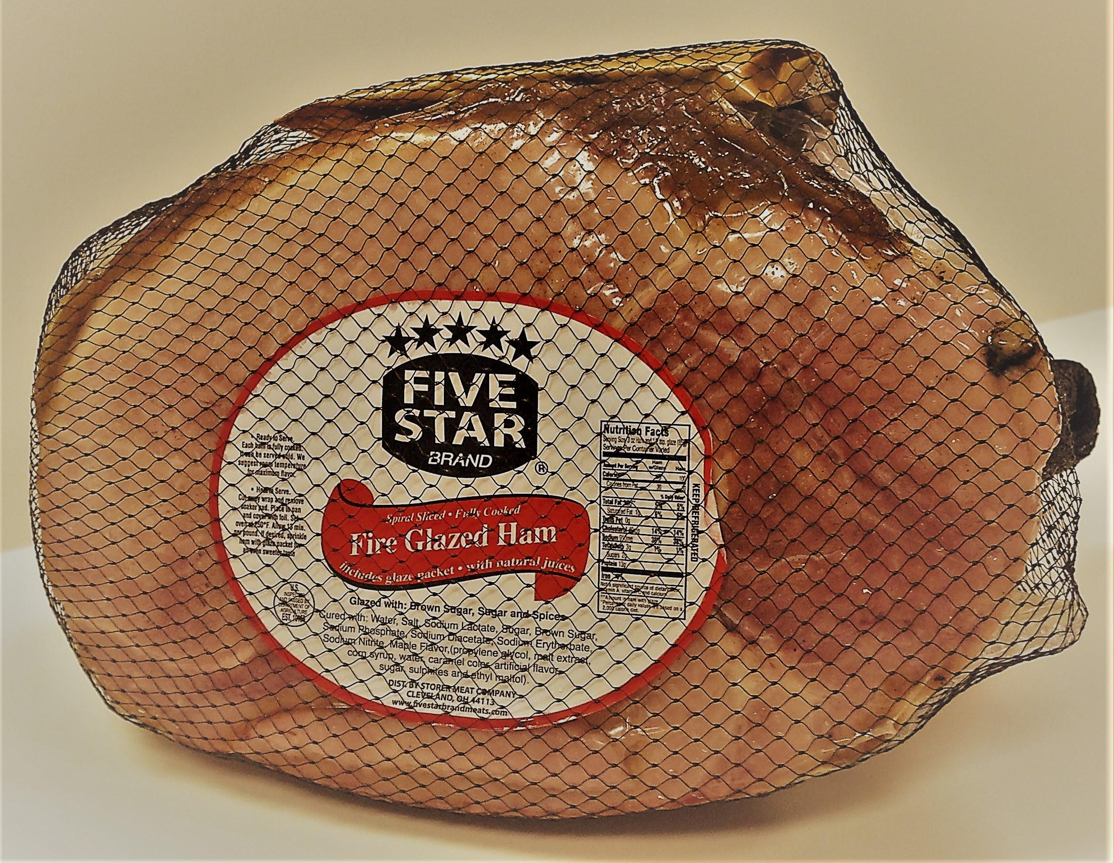 Five Star Spiral sliced Ham  2013 (2)