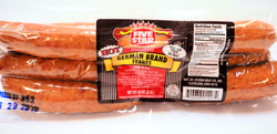 FIVE STAR Brand HOT GERMAN FRANKS