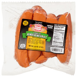 FIVE STAR Brand GARLIC KNOCKWURST