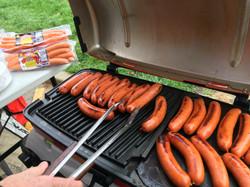 GRILLING Wieners & Slovenian