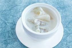 生磨杏汁燉白肺湯