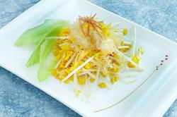 桂花炒魚翅