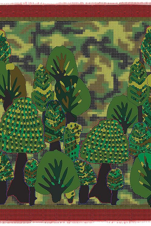 Camo Tree Green