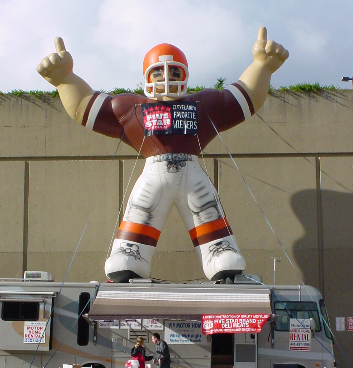 Cleveland Browns Five Star Tailgate