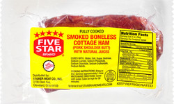 FIVE STAR Brand COTTAGE HAM