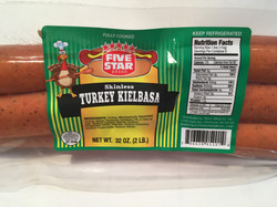 FIVE STAR Brand TURKEY KIELBASA