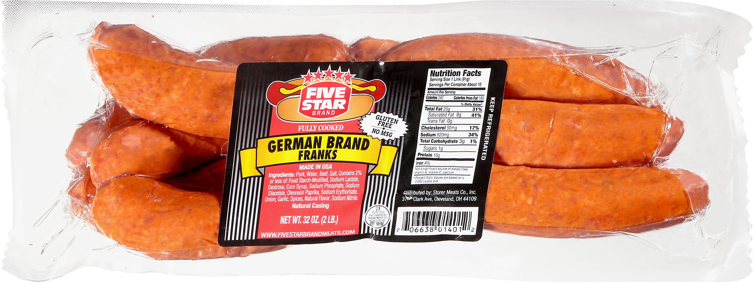 FIVE STAR Brand GERMAN FRANKS