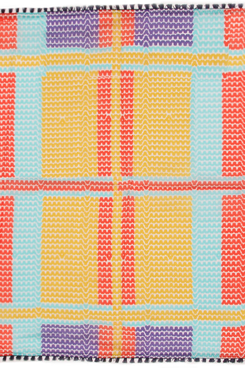 Knitted Check Elly