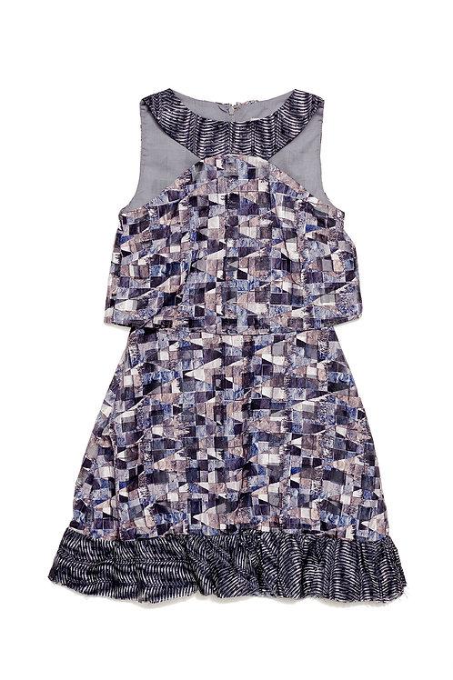 Concrete Halter Dress