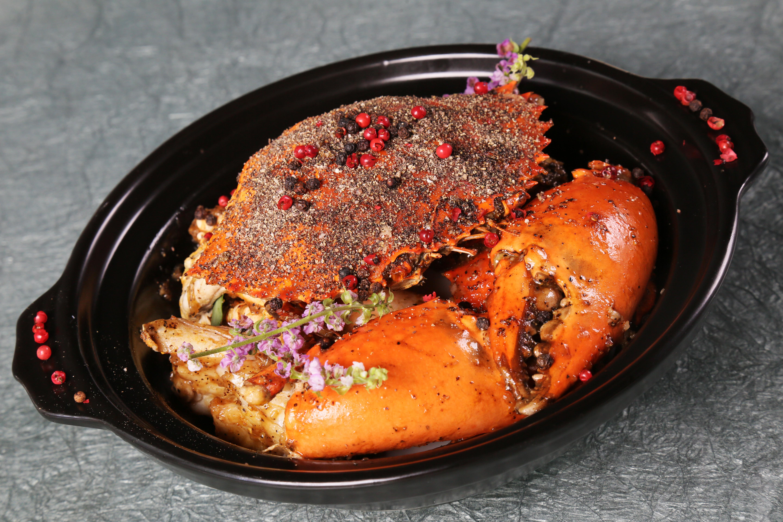 新加坡胡椒蟹煲
