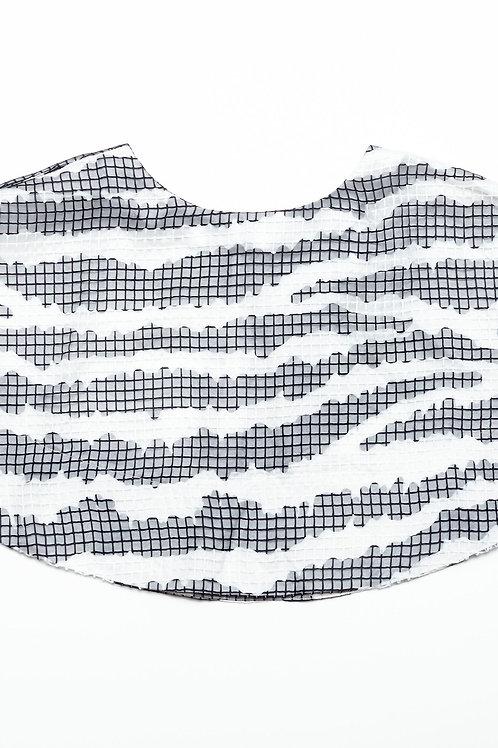 Zebra Flare Mini Skirt