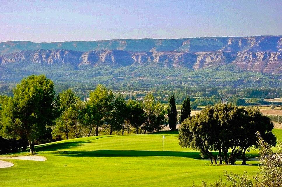 Golf & vue Lubéron