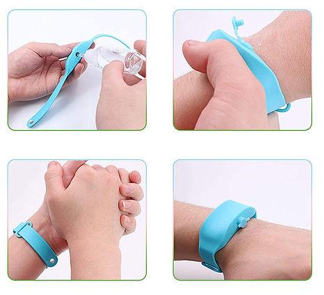 bracelet gel covid 19