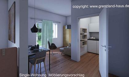 Singlewohnung Grenzlandhaus