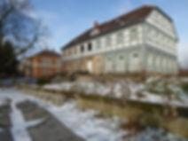 Bauprozess, Grenzland-Haus, Winter