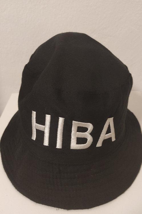 """כובע שחור רחב שוליים """"HIBA"""""""