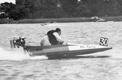 Bert Savidge winner of the 1948 Daily Mi