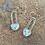 Thumbnail: Half Moon Drop Earrings