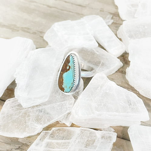 Boulder Turquoise Ring