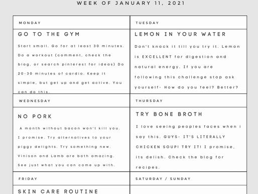 A Month of Wellness - Week 2