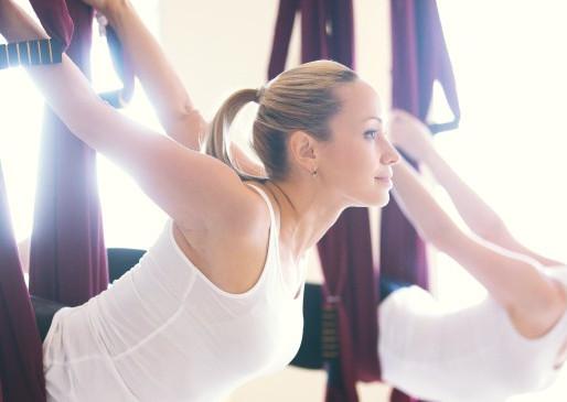 Aerial Yoga: Better Than Regular Yoga?