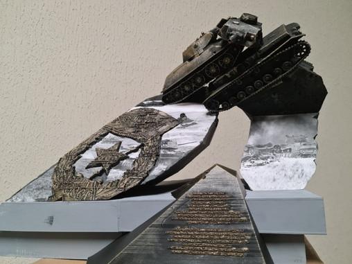 Монумент Гвардейцам-танкистам в Орле - зримое воплощение подвига героев-танкистов
