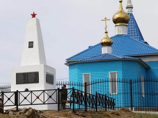 Военнослужащие в Бурятии восстановили памятник Героям Великой Отечественной войны