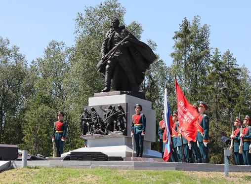 В Новгородской области открыли мемориал бойцам времен ВОВ
