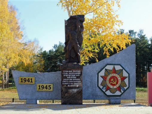 Два памятника участникам ВОВ установили в Оренбуржье