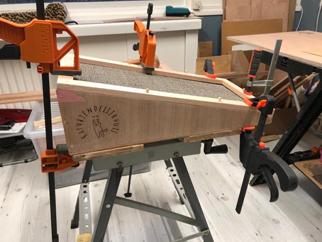 Nieuw ontwerp voor een krabplank in ontwikkeling