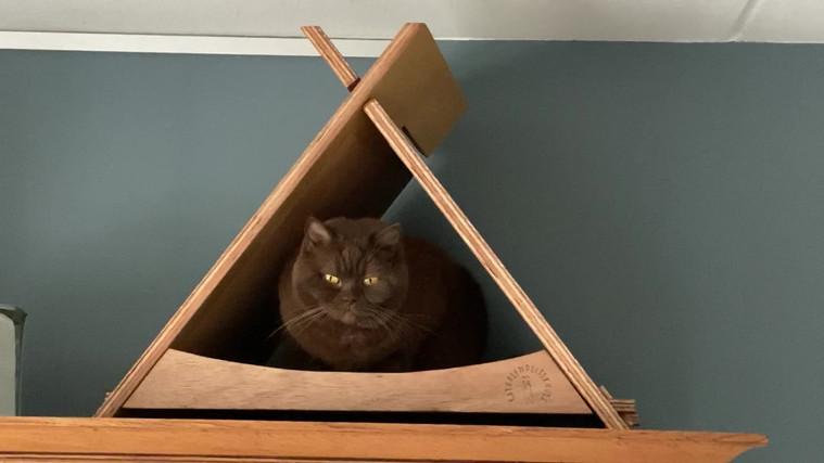 De tipi tent wordt goed gebruikt