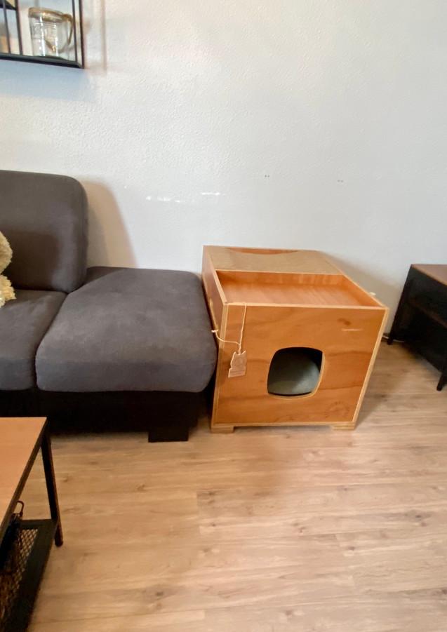 een mooi meubel in huis