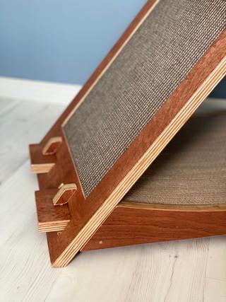 een krabplank aan 1 zijde
