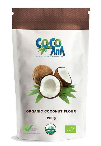 Organic Coconut Flour 200g Pack