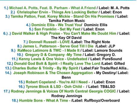 Thanks WGSR Gospel Sounds Radio!!!