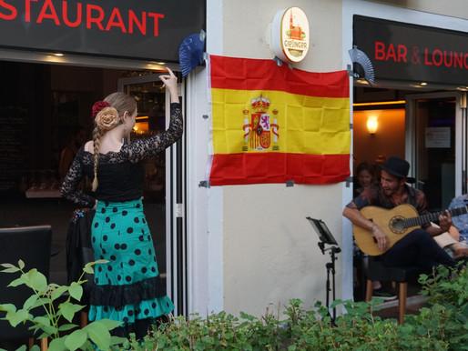 Spanischer Abend Lebenslust
