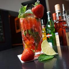 Erdbeer-Mojito