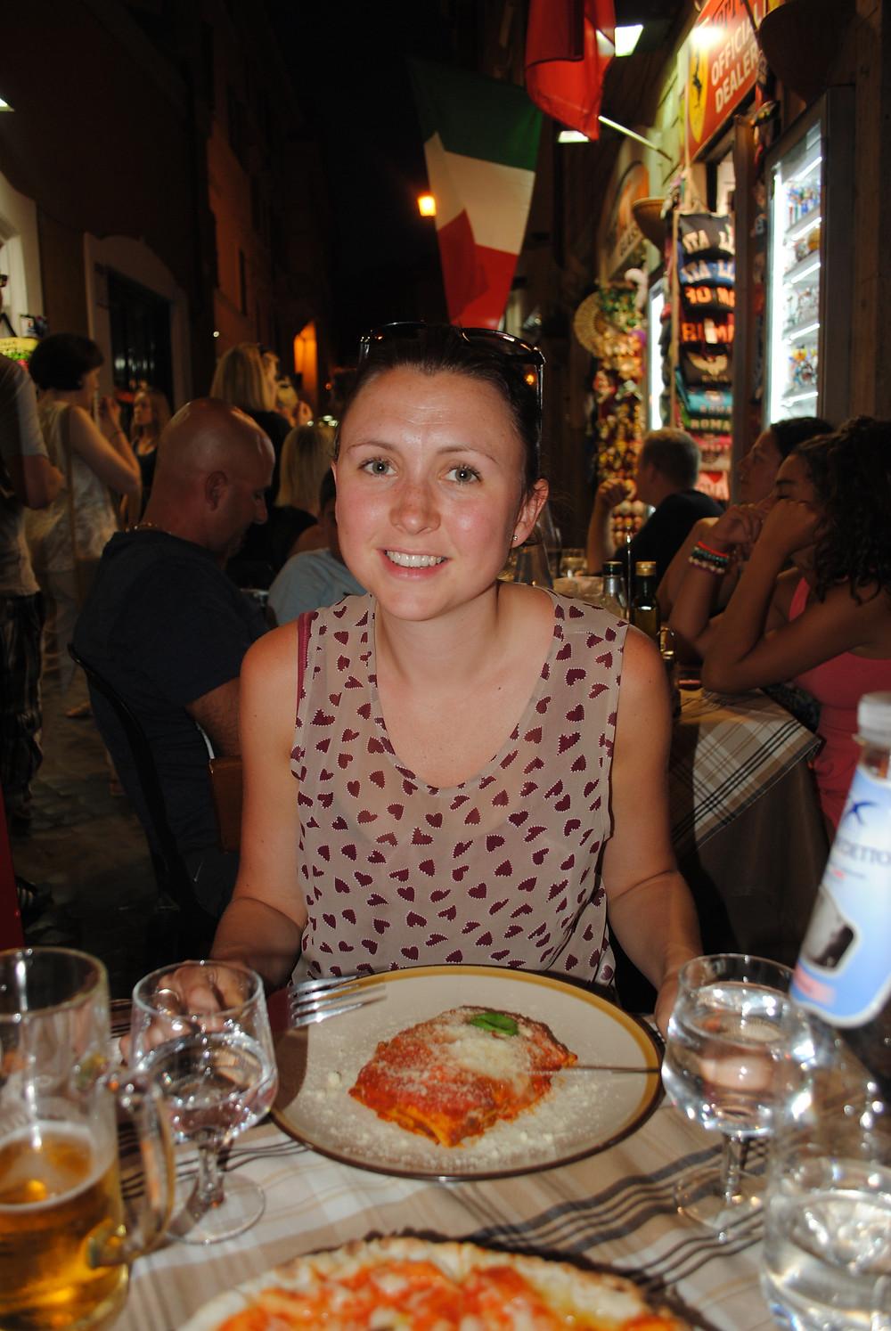 Dinner in Roma
