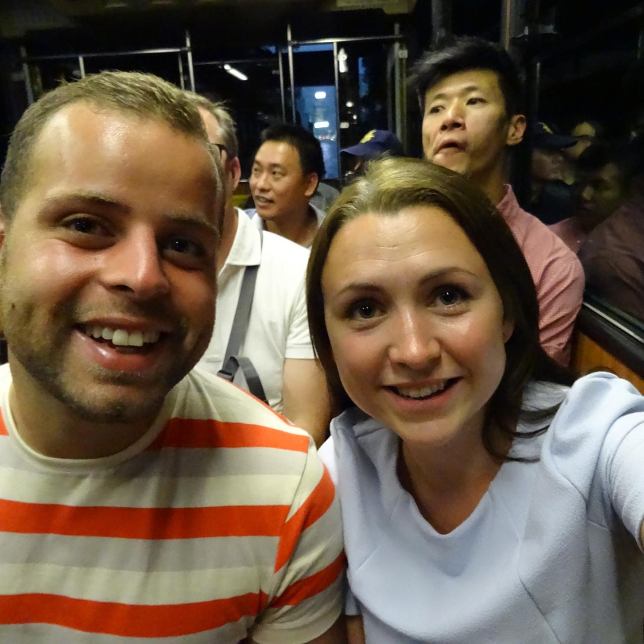 Hong Kong- Tram to Victoria Peak