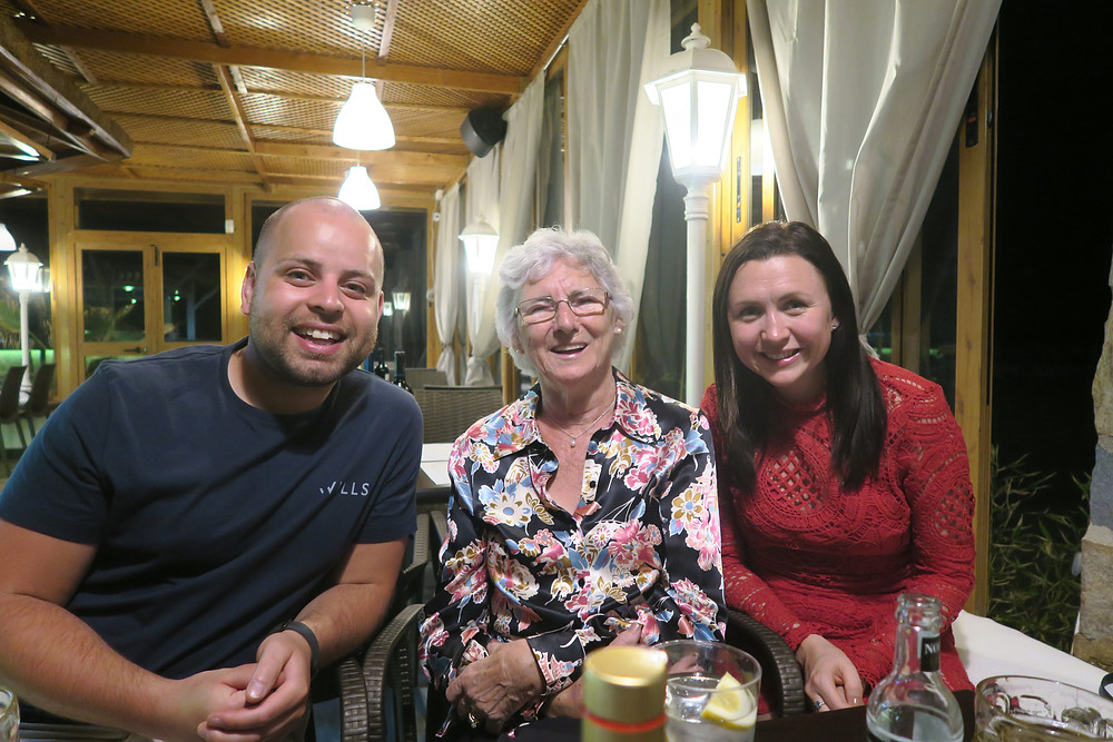 Costa Del Sol- Gran's 80th birthday