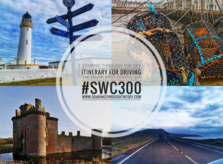 Itinerary For Driving The South West Coastal 300 #SWC300
