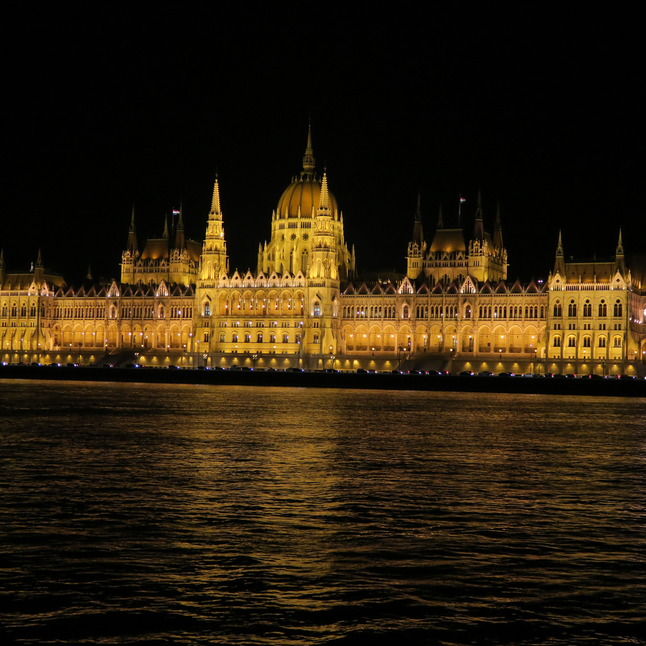 Budapest from river cruise