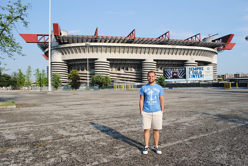 Milan- San Siro Stadium