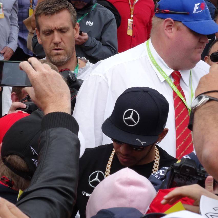 F1 drivers- Hamilton