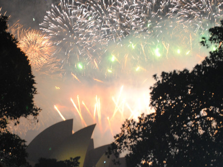 Happy New Year from Sydney!!!