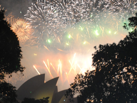 Happy New Year from Sydney!!!