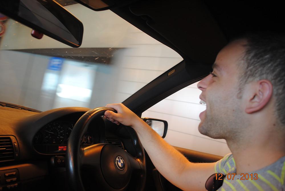Driving the Monaco Grand Prix circuit