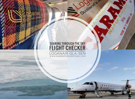 Flight Checker Loganair GLA-SEN