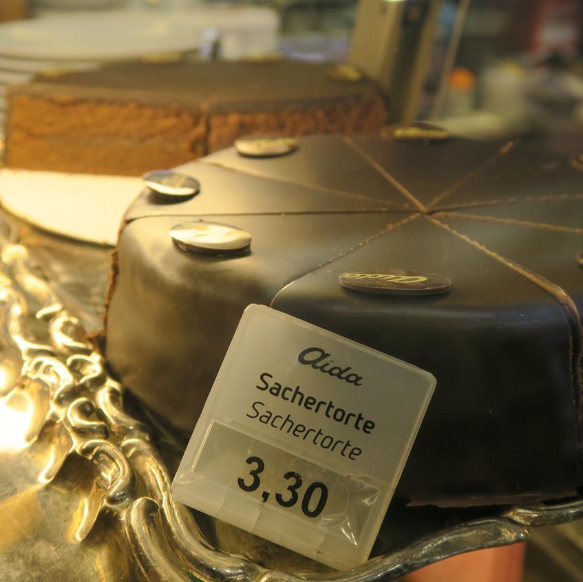 Vienna- famous Sacher cake
