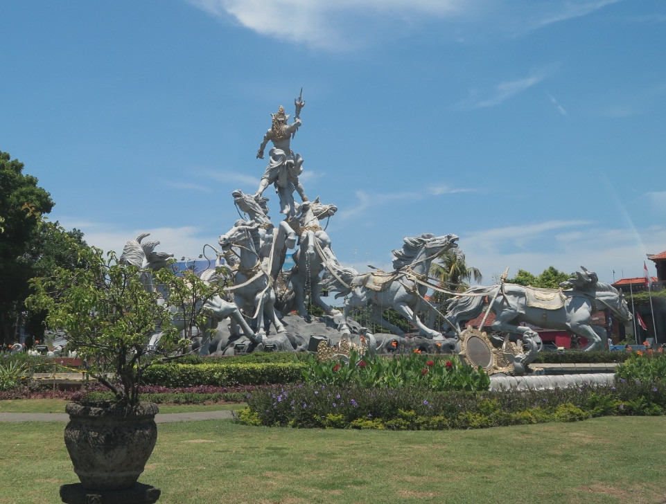 Balinese monument